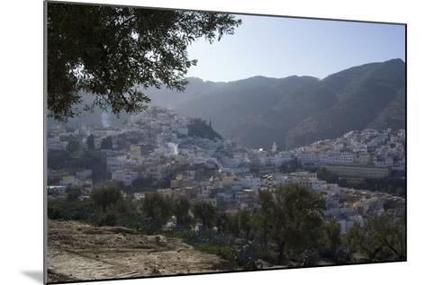 Town View, Moulay Idriss, Morocco-Natalie Tepper-Mounted Photo