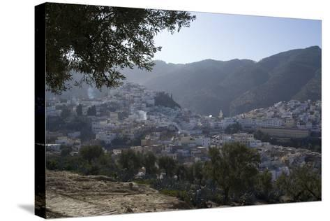 Town View, Moulay Idriss, Morocco-Natalie Tepper-Stretched Canvas Print