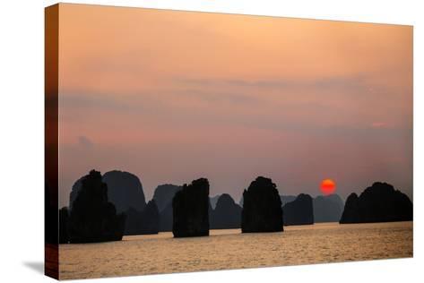 Vietnam, Quang Ninh Province-Nigel Pavitt-Stretched Canvas Print