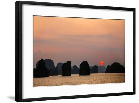 Vietnam, Quang Ninh Province-Nigel Pavitt-Framed Art Print