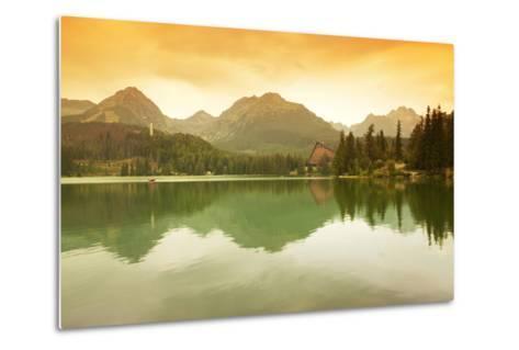 Slovakia, Carpathian Mountains, High Tatra. the Strbske Pleso Lake-Ken Scicluna-Metal Print