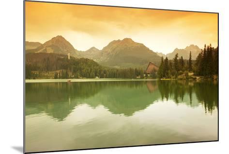 Slovakia, Carpathian Mountains, High Tatra. the Strbske Pleso Lake-Ken Scicluna-Mounted Photographic Print