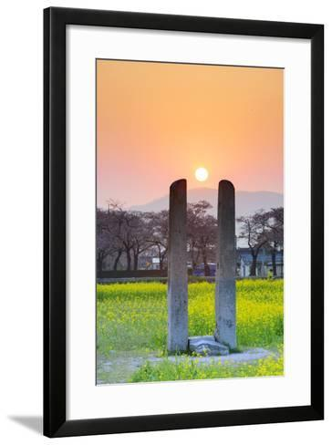 Asia, Republic of Korea, South Korea, Gyeongsangbuk-Do, Gyeongju-Christian Kober-Framed Art Print