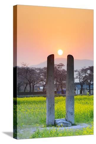 Asia, Republic of Korea, South Korea, Gyeongsangbuk-Do, Gyeongju-Christian Kober-Stretched Canvas Print