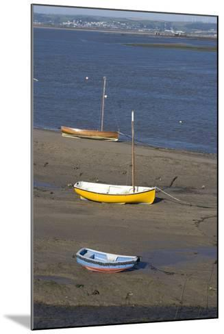 Low Tide at the Town of Appledore Looking Towards Instow, Devon, UK-Natalie Tepper-Mounted Photo