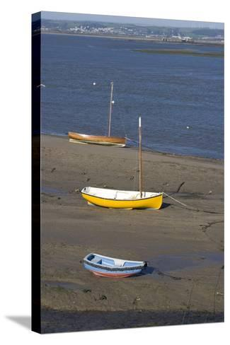 Low Tide at the Town of Appledore Looking Towards Instow, Devon, UK-Natalie Tepper-Stretched Canvas Print