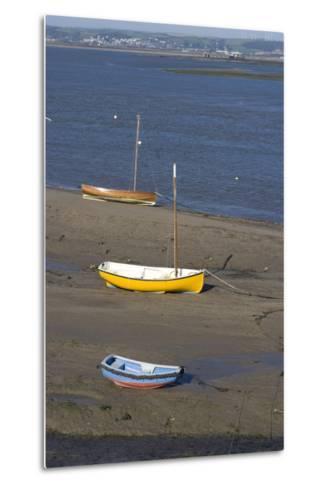 Low Tide at the Town of Appledore Looking Towards Instow, Devon, UK-Natalie Tepper-Metal Print