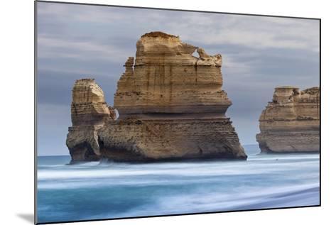 12 Apostles National Marine Park, Gibsons Beach, Port Campbell National Park, Princetown, Victoria-Cahir Davitt-Mounted Photographic Print