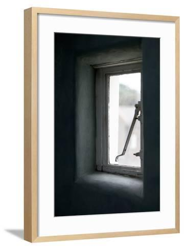 Detail of Small Window in the Reading Rooms, Margate, Kent, UK-Joel Knight-Framed Art Print