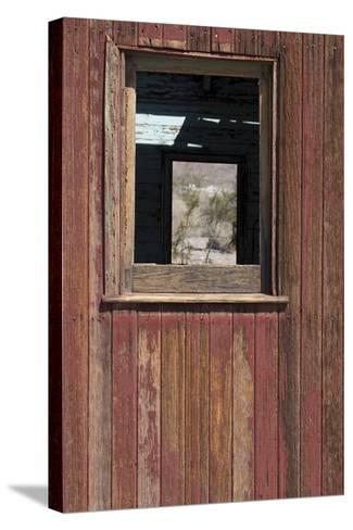 Detail of Old Train Car, Rhyolite Ghost Town, Nevada, Usa-Natalie Tepper-Stretched Canvas Print