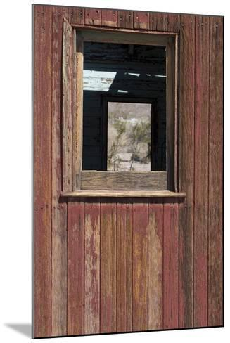 Detail of Old Train Car, Rhyolite Ghost Town, Nevada, Usa-Natalie Tepper-Mounted Photo