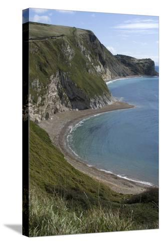 The Beach at Durdle Door on the Jurassic Coast, Dorset, UK-Natalie Tepper-Stretched Canvas Print