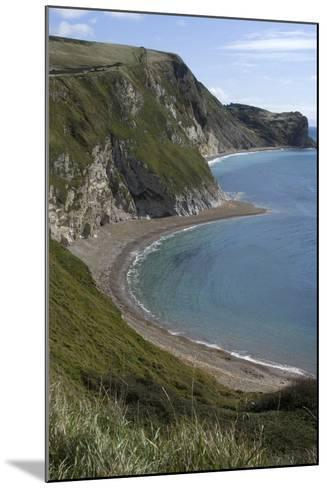 The Beach at Durdle Door on the Jurassic Coast, Dorset, UK-Natalie Tepper-Mounted Photo