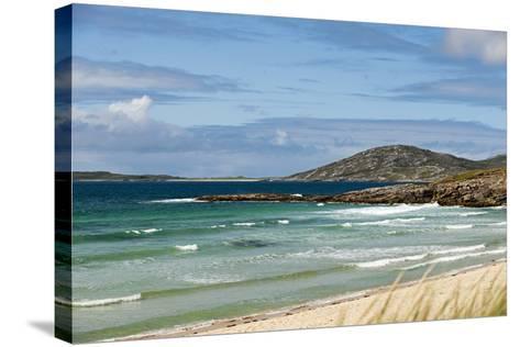 Uk, Scotland, Outer Hebrides, Harris. Ceilebost Beach-John Warburton-lee-Stretched Canvas Print