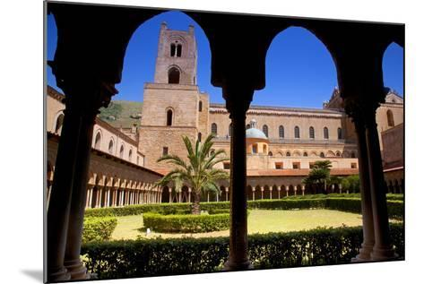 Italy, Sicily, Monreale. the Cathedral Form under the Monastery Arches.-Ken Scicluna-Mounted Photographic Print