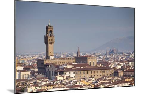Italy, Tuscany, Florence. Palazzo Vecchio and Overview of Surroundings.-Ken Scicluna-Mounted Photographic Print