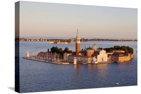 Italy, Veneto, Venice. the Island of San Giorgio Maggiore with its Famed Church. Unesco.-Ken Scicluna-Stretched Canvas Print