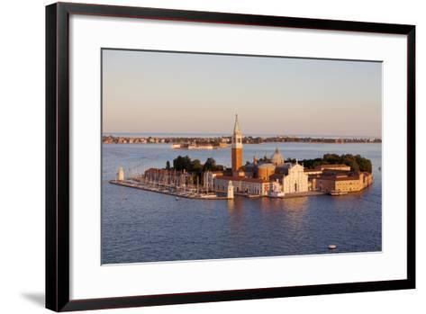 Italy, Veneto, Venice. the Island of San Giorgio Maggiore with its Famed Church. Unesco.-Ken Scicluna-Framed Art Print