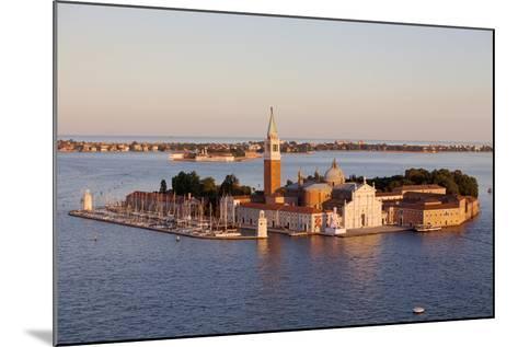 Italy, Veneto, Venice. the Island of San Giorgio Maggiore with its Famed Church. Unesco.-Ken Scicluna-Mounted Photographic Print