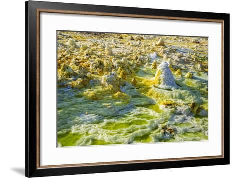 Ethiopia, Dallol, Afar Region. at Almost 300 Feet Below Sea Level-Nigel Pavitt-Framed Art Print