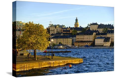 View of Sodermalm District in Stockholm, Sweden-Carlos Sanchez Pereyra-Stretched Canvas Print