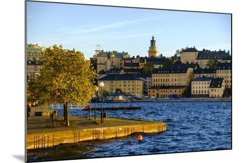 View of Sodermalm District in Stockholm, Sweden-Carlos Sanchez Pereyra-Mounted Photographic Print