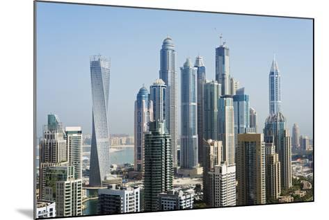 Middle East, United Arab Emirates, Dubai, Dubai Marina Buildings-Christian Kober-Mounted Photographic Print