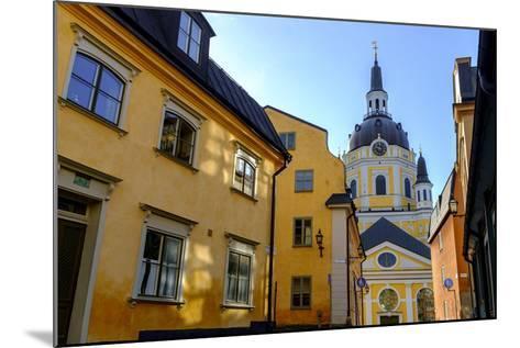 Katarina Kyrka (Church of Catherine) at Sodermalm District in Stockholm, Sweden-Carlos Sanchez Pereyra-Mounted Photographic Print