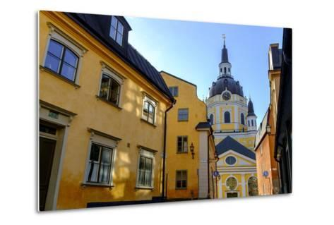 Katarina Kyrka (Church of Catherine) at Sodermalm District in Stockholm, Sweden-Carlos Sanchez Pereyra-Metal Print