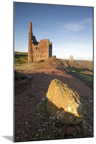 Old Tin Mine Workings, Botallack, Pendeen,Cornwall, England-Paul Harris-Mounted Photographic Print