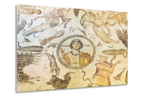 Turkey, Eastern Anatolia, Hatay, Mosaic Museum; Yakto Mosaic-Christian Kober-Metal Print
