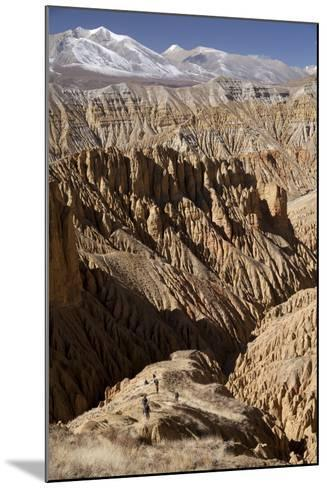 Nepal, Mustang, Choesar. Returning from the Koncholing Cave.-Katie Garrod-Mounted Photographic Print