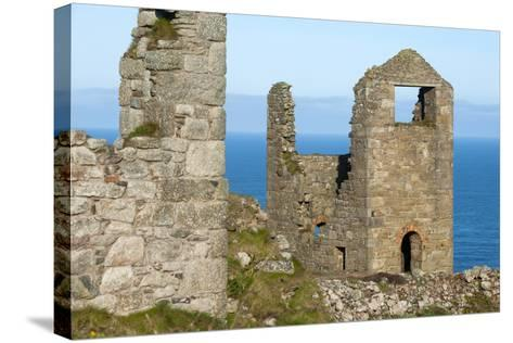 Old Tin Mine Workings, Botallack, Pendeen,Cornwall, England-Paul Harris-Stretched Canvas Print