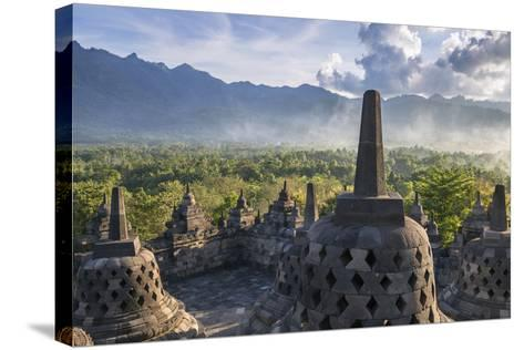 Indonesia, Java-Nigel Pavitt-Stretched Canvas Print