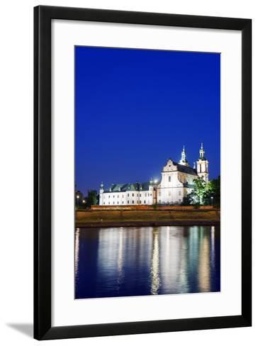 Europe, Poland, Malopolska, Krakow, Church on the Rock-Christian Kober-Framed Art Print