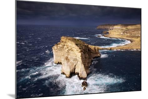 Europe, Maltese Islands, Gozo. Dramatic Scenery in Dwejra.-Ken Scicluna-Mounted Photographic Print