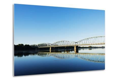 Europe, Poland, Gdansk and Pomerania, Torun, Vistula River-Christian Kober-Metal Print