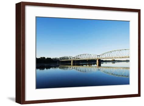 Europe, Poland, Gdansk and Pomerania, Torun, Vistula River-Christian Kober-Framed Art Print