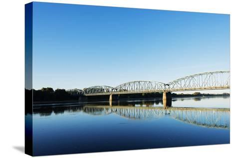 Europe, Poland, Gdansk and Pomerania, Torun, Vistula River-Christian Kober-Stretched Canvas Print