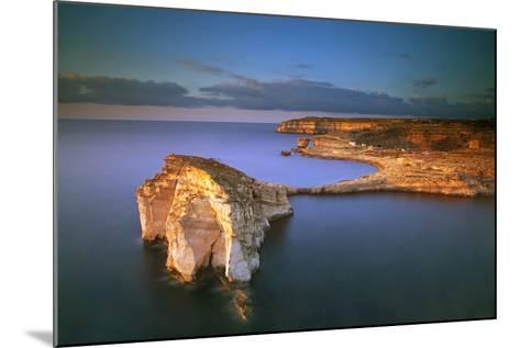 Europe, Maltese Islands, Gozo. Dramatic Scenery in Dwejra-Ken Scicluna-Mounted Photographic Print