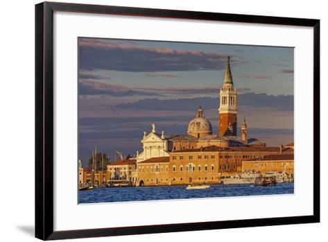 San Giorgio Maggiore at Sunset Viewed from Giudecca, Venice, Veneto, Italy.-Cahir Davitt-Framed Art Print