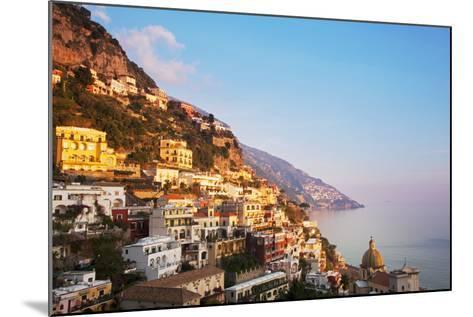 Italy, Amalfi Coast, Salerno Province. View of Positano.-Ken Scicluna-Mounted Photographic Print