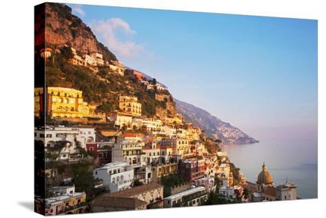 Italy, Amalfi Coast, Salerno Province. View of Positano.-Ken Scicluna-Stretched Canvas Print