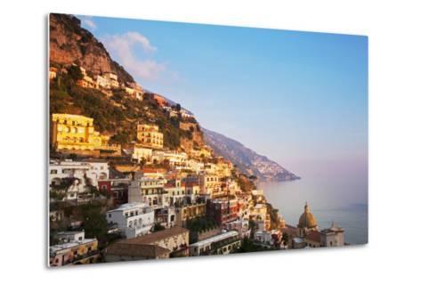 Italy, Amalfi Coast, Salerno Province. View of Positano.-Ken Scicluna-Metal Print