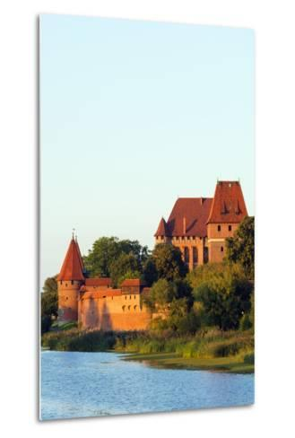 Europe, Poland, Pomerania, Medieval Malbork Castle, Marienburg Fortress of Mary, UNESCO Site-Christian Kober-Metal Print