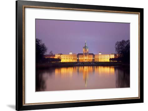 Germany, Berlin. Charlottenburg Castle Environs. Unesco-Ken Scicluna-Framed Art Print