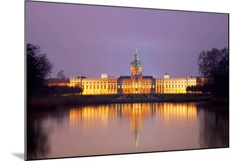Germany, Berlin. Charlottenburg Castle Environs. Unesco-Ken Scicluna-Mounted Photographic Print