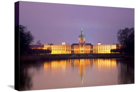 Germany, Berlin. Charlottenburg Castle Environs. Unesco-Ken Scicluna-Stretched Canvas Print