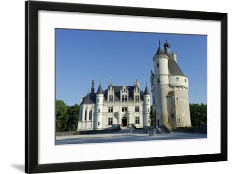 France, Centre, Indre-Et-Loire, Chateau De Chenonceau.-Amar Grover-Framed Art Print