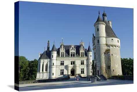 France, Centre, Indre-Et-Loire, Chateau De Chenonceau.-Amar Grover-Stretched Canvas Print